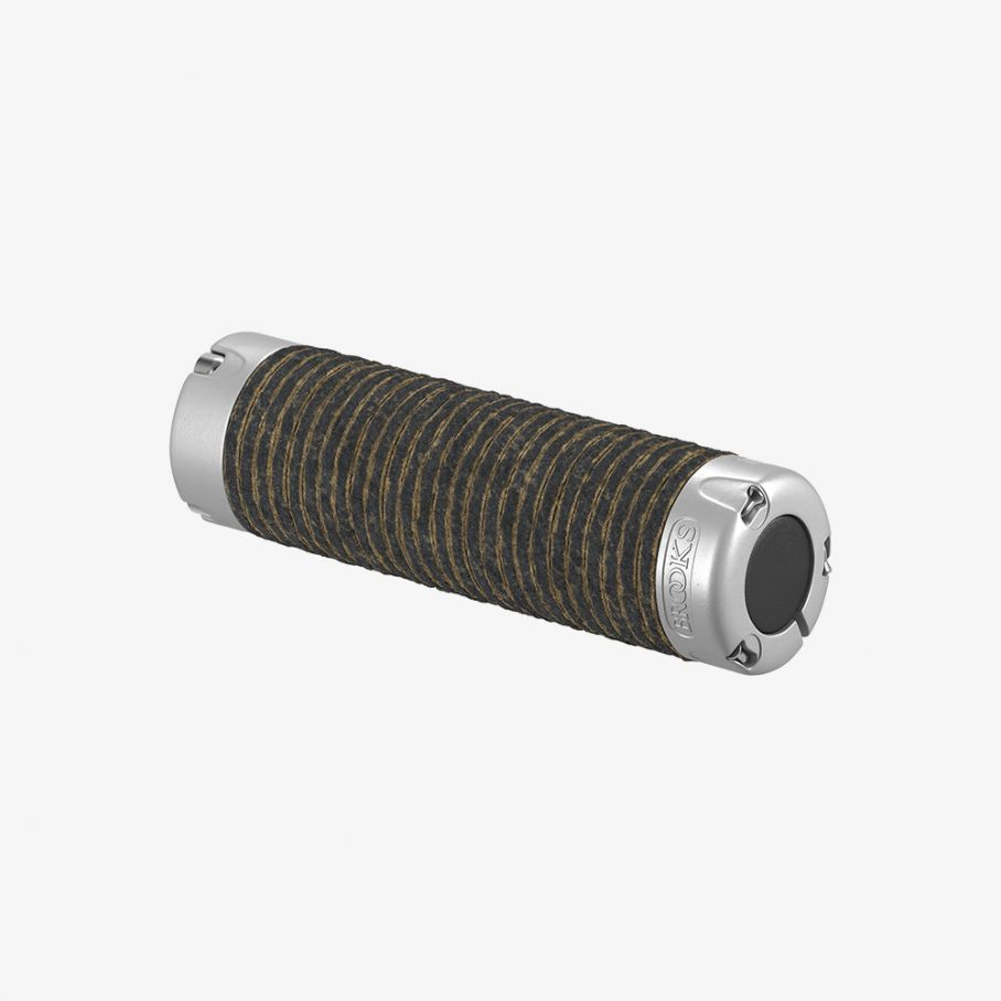Plump Leather Grips-Black