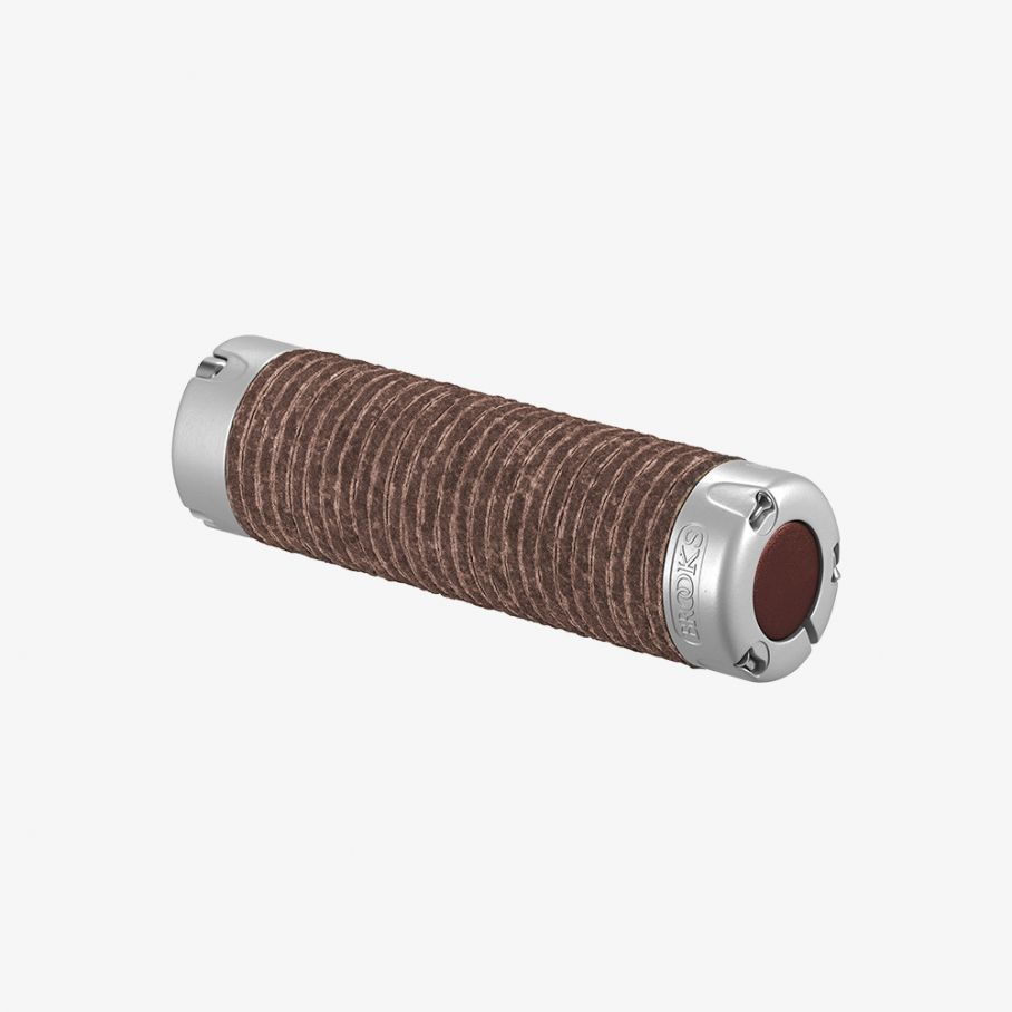 Plump Leather Grips-Brown