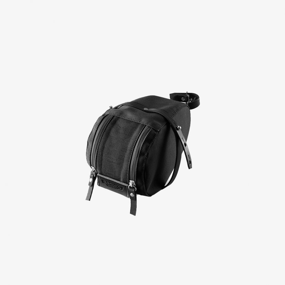 Isle of Wight Saddle Bag-Black-1,2 L