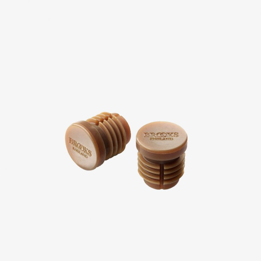 Rubber Bar End Plugs-Natural